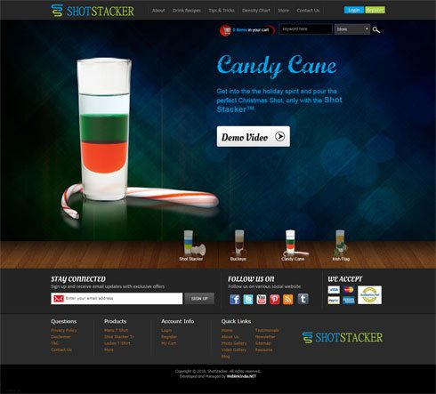 ShotStacker United States Web Design