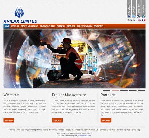 Krilax Limited United Kingdom Web Design