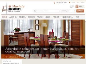 Al Muntaja Furniture - Web Design Portfolio