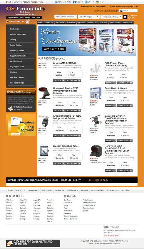 Osbusinesssystem South Africa Web Design