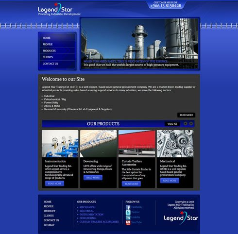 Legend Star - Web Design Portfolio