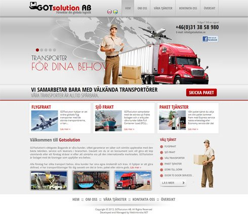 GOTsolution AB Sweden Web Design