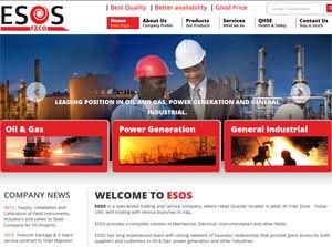 ESOS - Web Design Portfolio