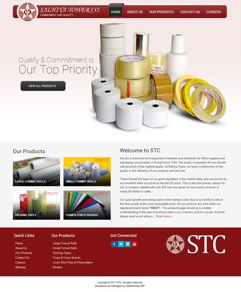 Salhiya Tower Kuwait Web Design