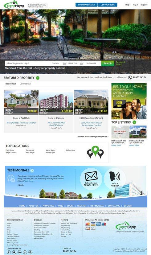 JMT Travel Services Pvt. Ltd. India Web Design