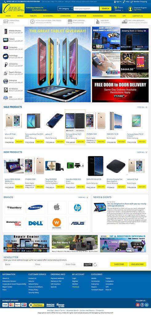 Tcampbell Trinidad and Tobago Web Design