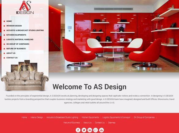 AS Design India Web Design
