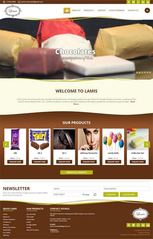 Lamis Saudi Arabia Web Design