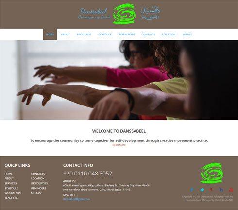 Danssabeel Egypt Web Design