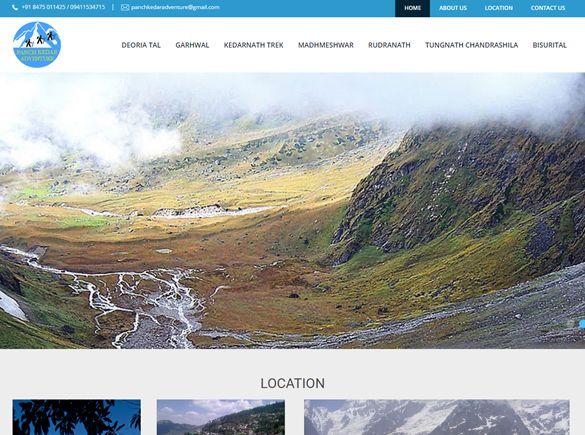 Deoriachandrshilaadventure India Web Design