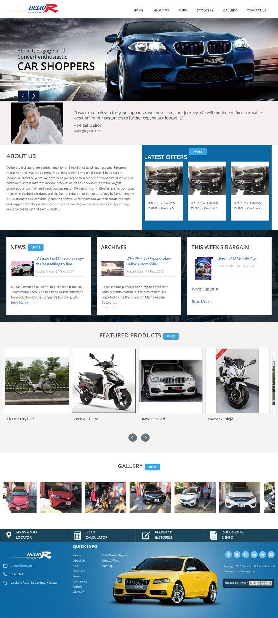 Delior Ltd  Mauritius Web Design