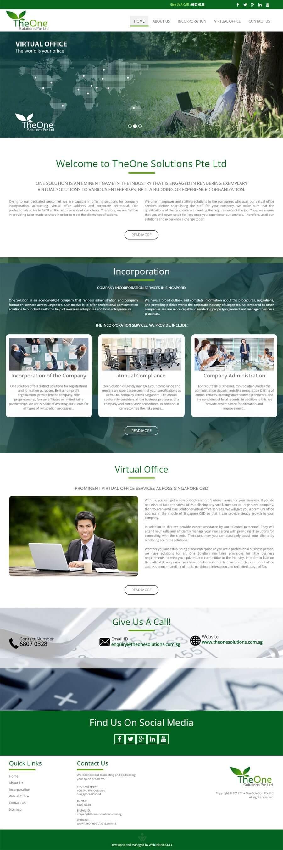 One solution Singapore Web Design