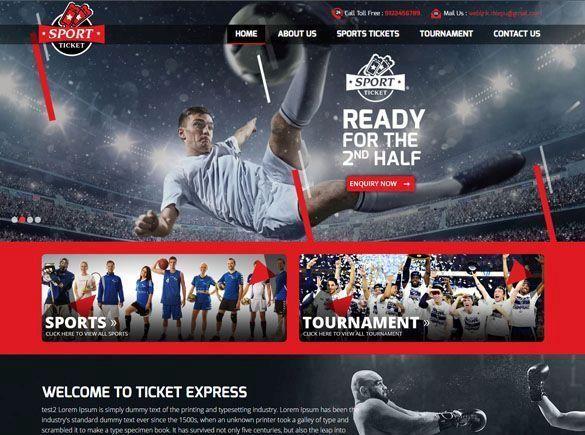 Ticket Express Greece Web Design
