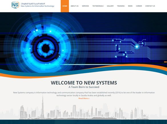 Newsysco Saudi Arabia Web Design