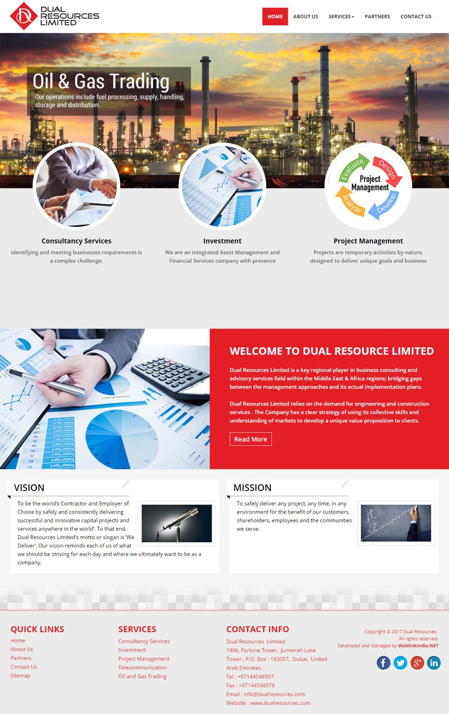 DUAL RESOURCE LIMITED United Arab Emirates Web Design