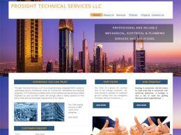 PROSIGHT TECHNICAL SERVICES LLC United Arab Emirates Web Design