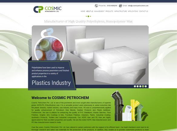 COSMIC PETROCHEM - SEO Portfolio