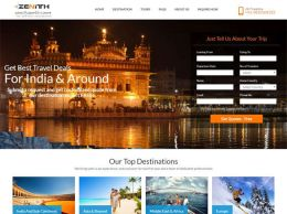 Zenith India Web Design