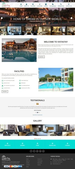 Vista Stay - Web Design Portfolio