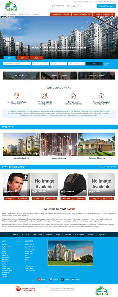 PakHut India Web Design