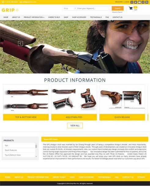 Grip Plus Inc United States Web Design