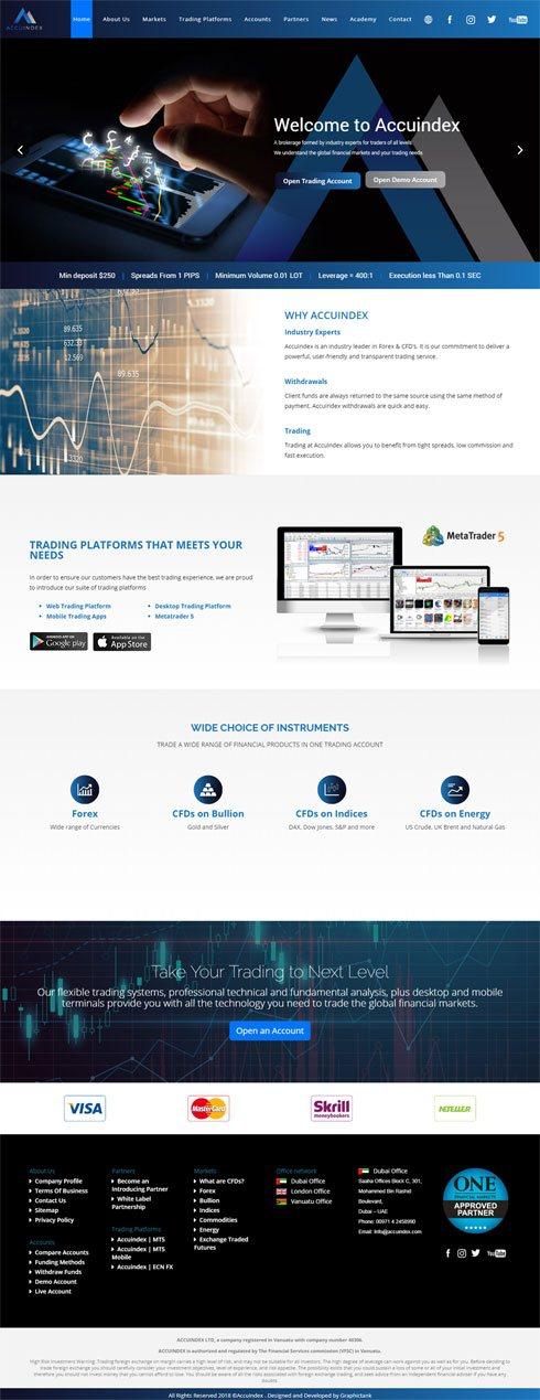 AccuIndex  United Kingdom Web Design