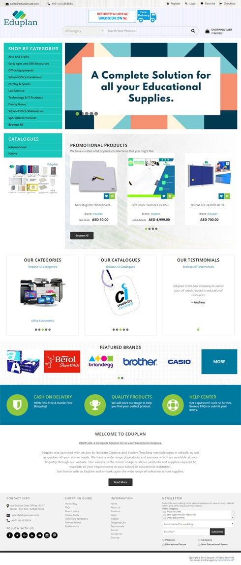 Eduplan Saudi Arabia Web Design