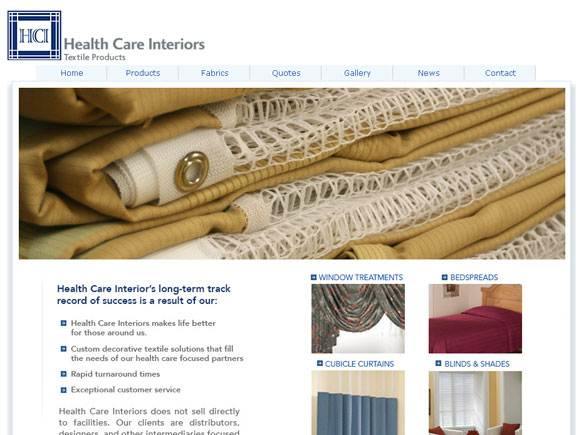 HC Interiors United States Web Design