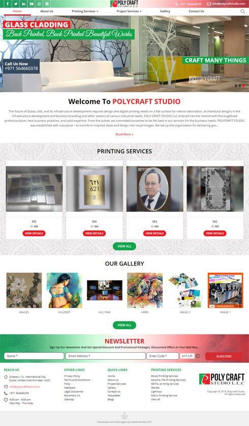 Polycraft Studio United Arab Emirates Web Design