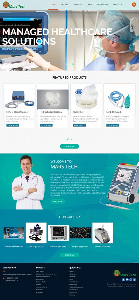 MARS TECH India Web Design