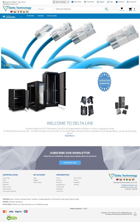 Delta Line LTD Saudi Arabia Web Design