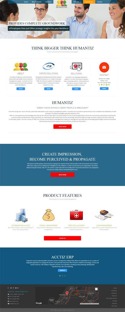 Humantiz - Infotiz Solutions LLC Saudi Arabia Web Design