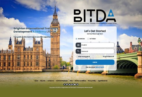The Brighton International Training & Development Academy Ltd United Kingdom Web Design