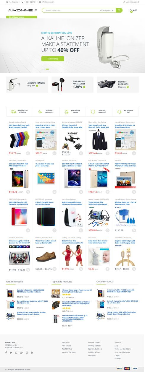 Aixonne Luxembourg Web Design