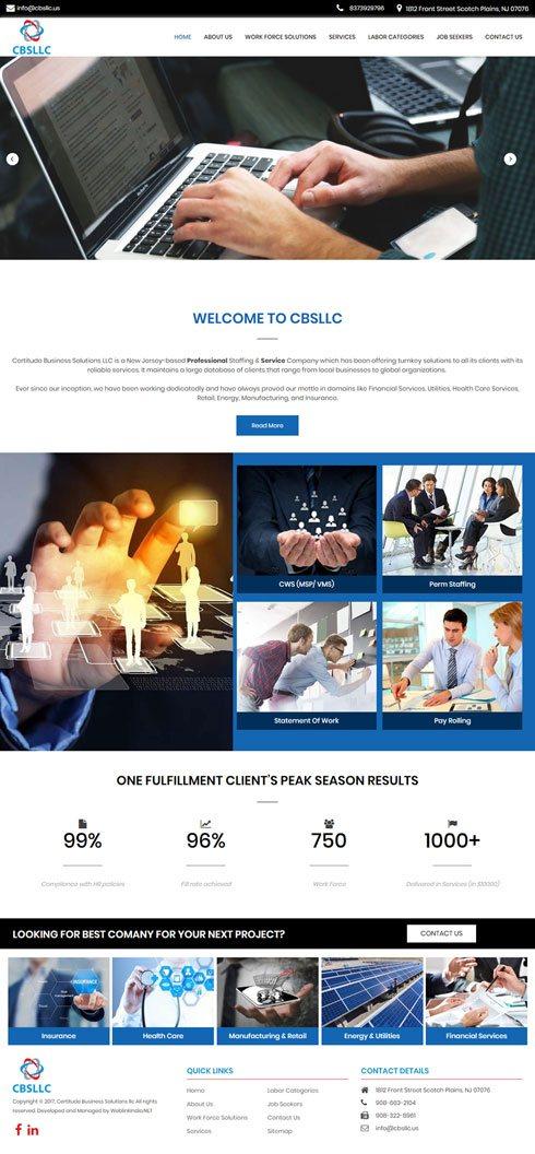 Certitude Business Solutions LLC United States Web Design
