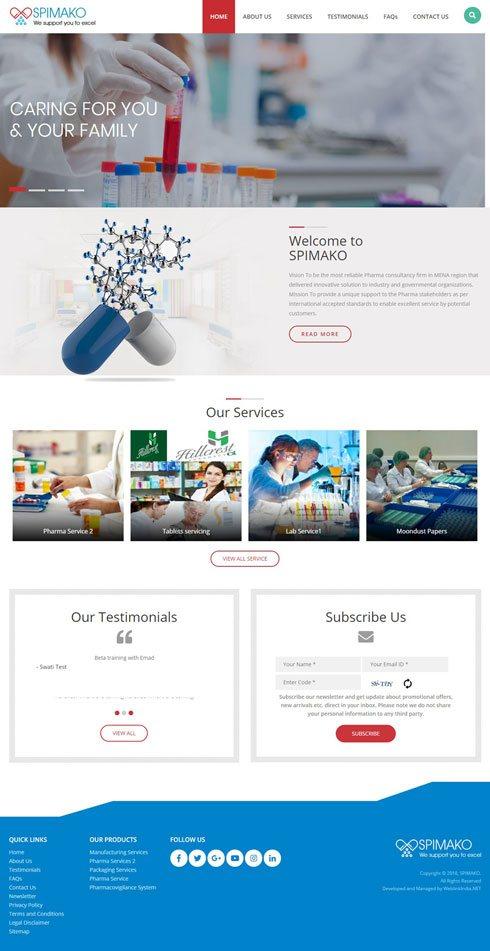 SPIMAKO Sudan Web Design