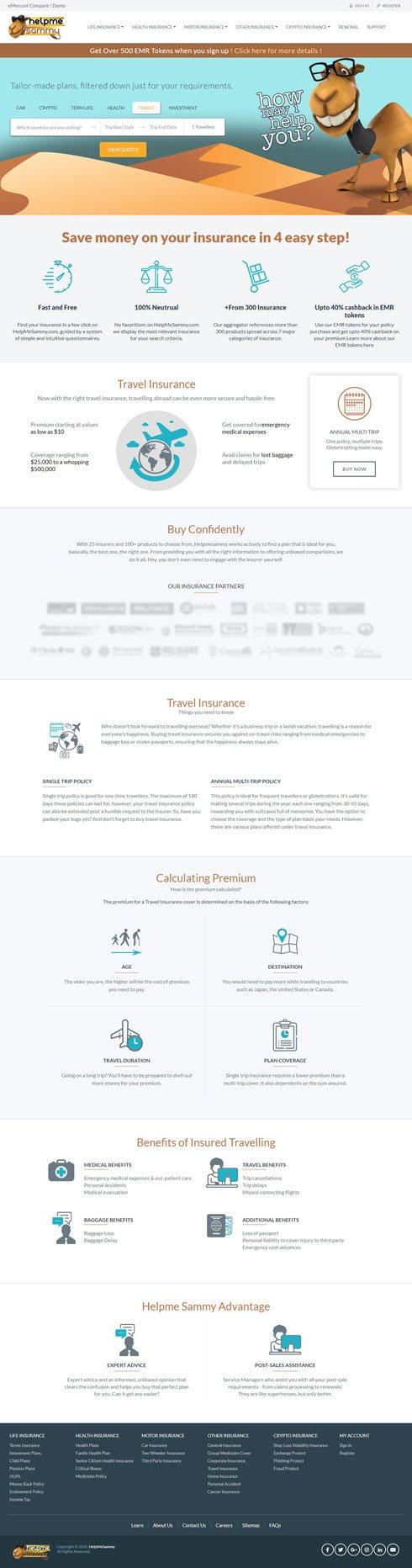 HelpMeSammy India Web Design