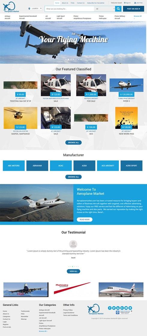 Aeroplane Market Sri Lanka Web Design