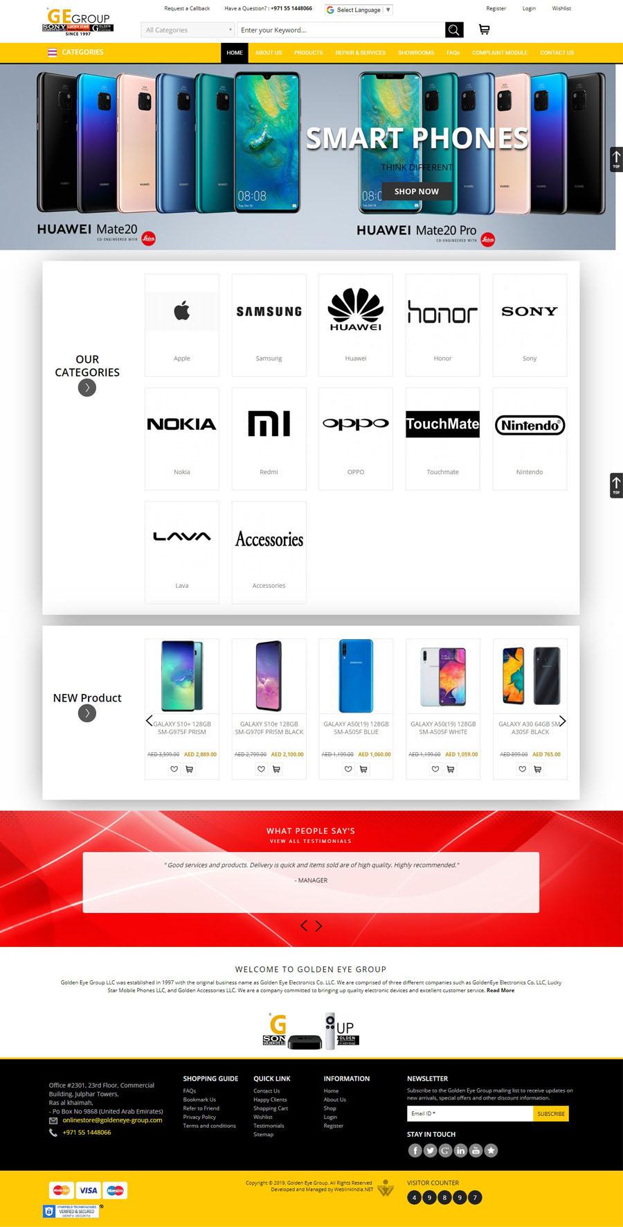 GOTsolution Sweden Web Design