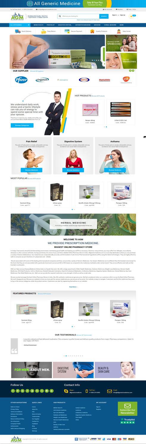 AGM India Web Design