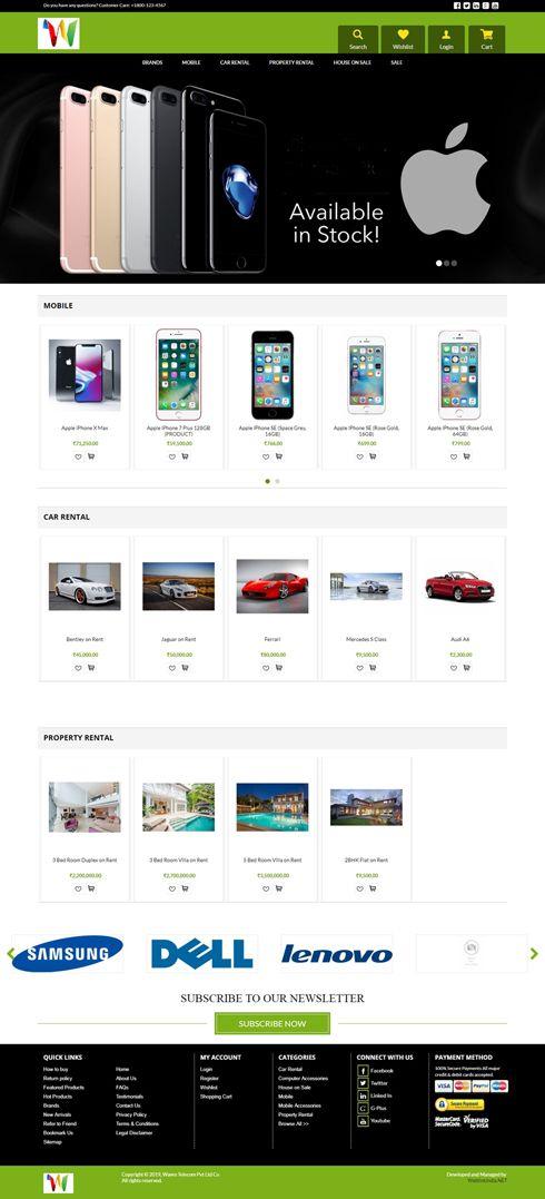 Waves Telecom Pvt Ltd India Web Design