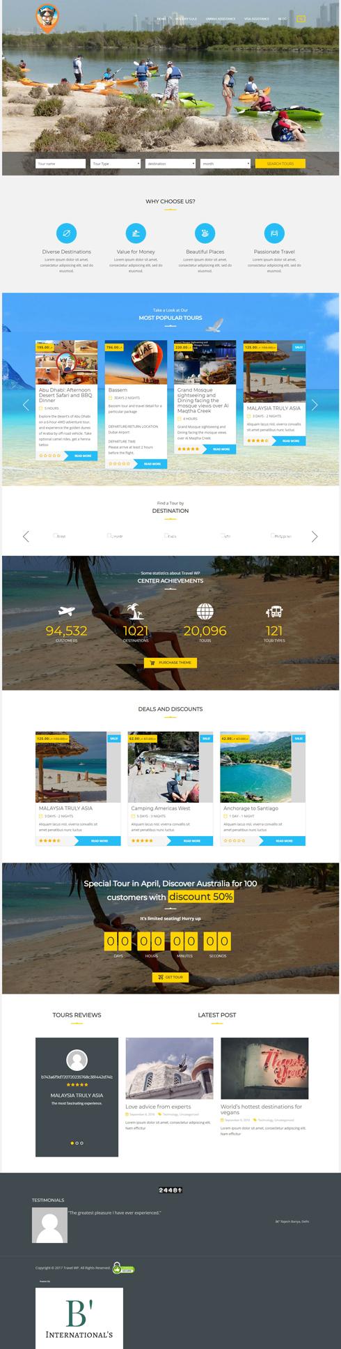 Holiday Camel United Arab Emirates Web Design