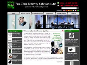 Pro-Tech Security Solutions Ltd - SEO Case Studies