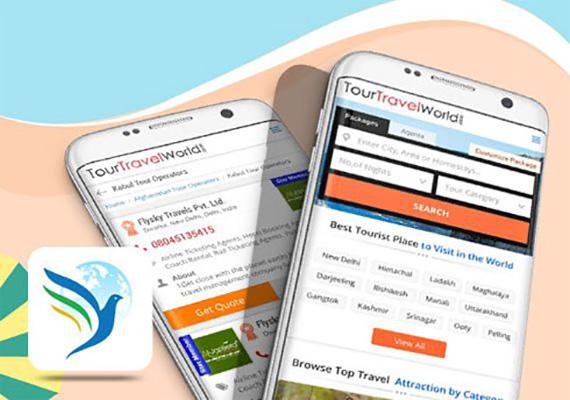 Tour Travel World - Mobile Apps Portfolio