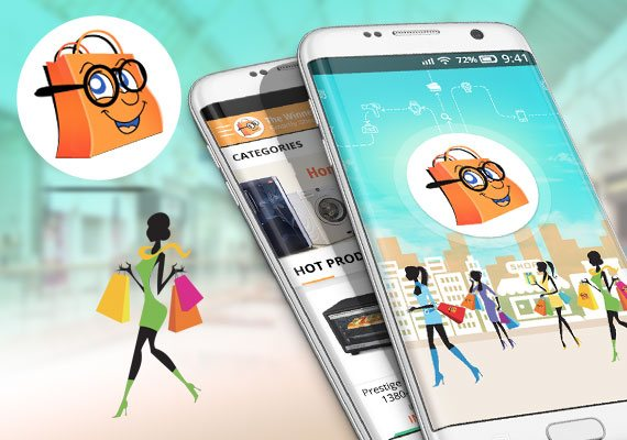 Smart Shopper Riyadh - Mobile Apps Portfolio