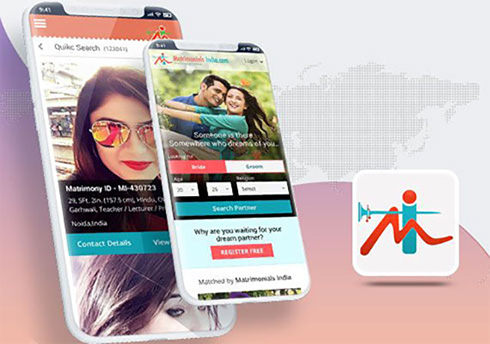 Matrimonials India - Mobile Apps Portfolio