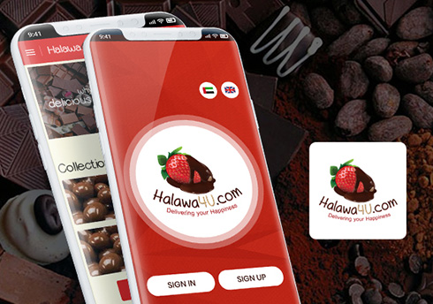 Halawa4u United Arab Emirates Web Design