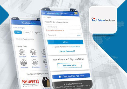 RealEstate India - Mobile Apps Portfolio